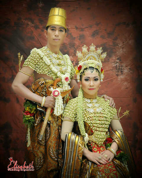 Wedding Wildan, Anis Sakinah, Adat Keraton